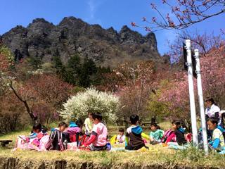 山登り(妙義山)